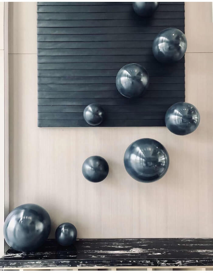 Stainless Steel Hollow Sphere/Ball, Stainless Steel Hemisphere, Stainless Steel Sphere Sculpture, Floating Sphere/ Ball, interior/exterior decoration, indoor/outdoor decoration, design