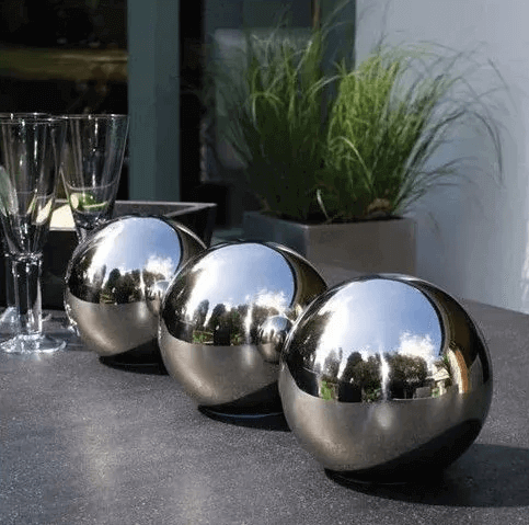 stainless steel decorative sphere
