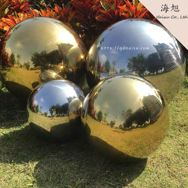Stainless Steel Hollow Sphere for Decoration