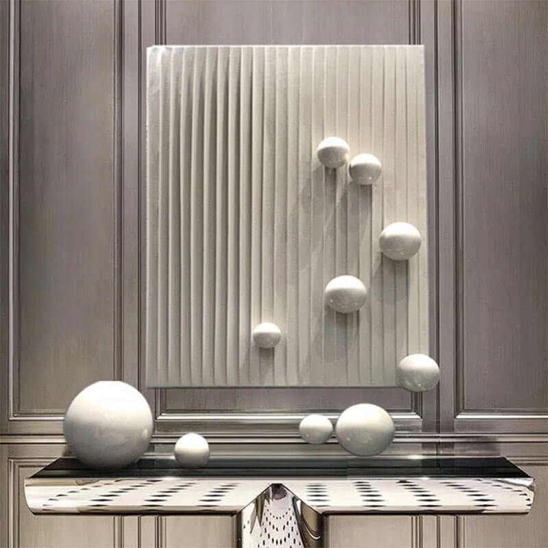 Stainless Steel Ornamental Sphere Home Decoration