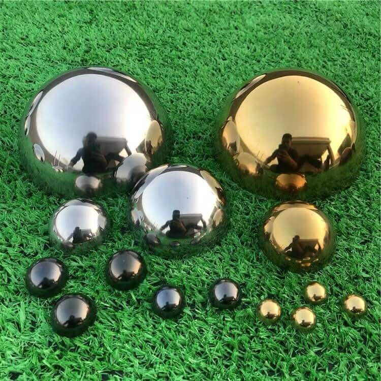 Colored-Stainless-Steel-Half-Ball
