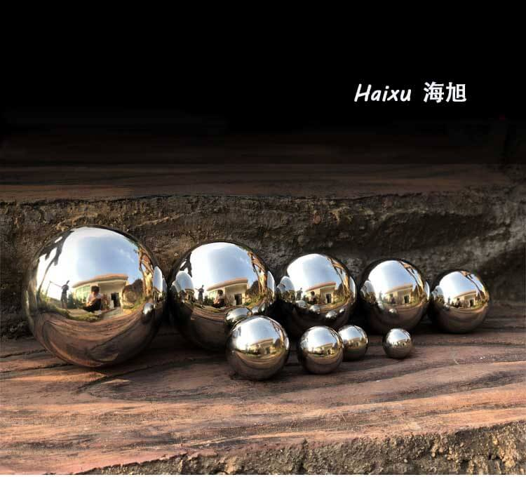 stainless steel spheres hollow with mirror polish