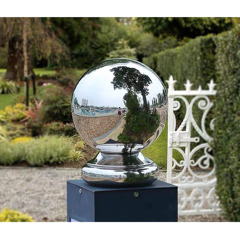 Stainless Sphere with Base